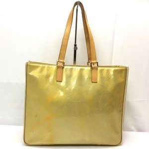 Auth Kouis Vuitton Colombus Vernis Shoulder Bag